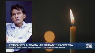 Trabajar hasta morir: Algunos Latinos se ven obligados a trabajar a pesar de tener síntomas de COVID-19