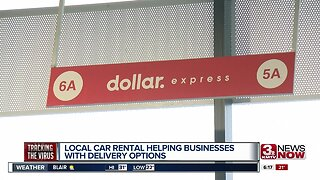 Local car rental helping businesses with delivery options