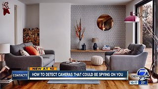 How to detect cameras that could be spying on you