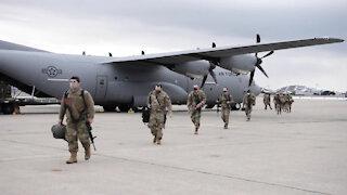 California National Guardsmen return home from D.C.