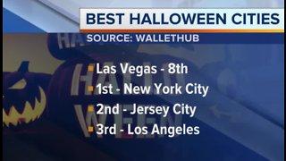 Las Vegas among top cities for Halloween