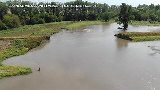Flooding in Mills County