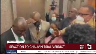 Reaction to Chauvin trial verdict