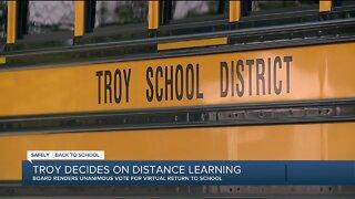 Troy School Board votes to start school year all virtual