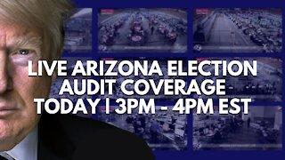 Patriot News Outlet Live   Live Arizona Election Audit Coverage   6/8/2021