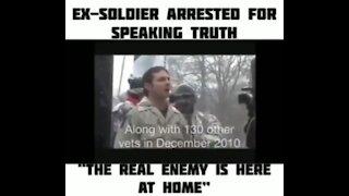 Wise Veteran spoke Truth before Arrest