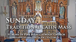 Holy Mass for Sexagesima Sunday, Feb. 7, 2021 (TLM)