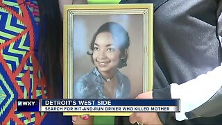 61-year-old woman killed in hit and run while riding bicycle on Detroit's west side