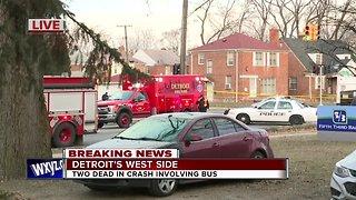 2 Killed in Crash Involving DDOT bus in Detroit