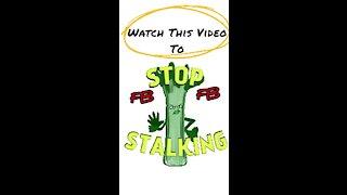 Prevent FACEBOOK from stalking offline