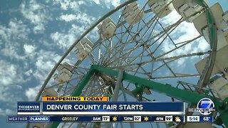 Denver County Fair starts today