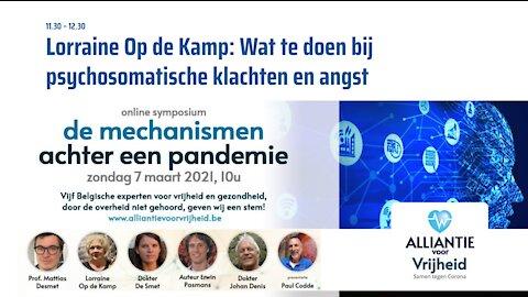 Lorraine Op de Kamp - Symposium Artsen Voor Vrijheid 7-3-2021