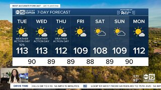 Extreme heat continues in the Valley
