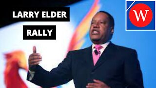 Larry Elder Holds Rally In The California Recall Election