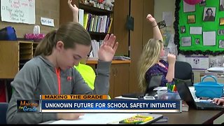 MAKING THE GRADE: Unknown future for school safety initiative