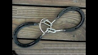A Puzzle Made From Horse Shoes! So Nice ^&
