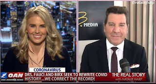 The Real Story - OANN Rewriting COVID History with Eric Bolling