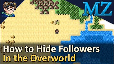 Change Player Followers Event Command Tutorial! RPG Maker MZ