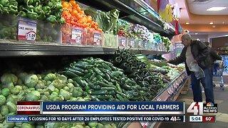 USDA program provides aid for local farmers