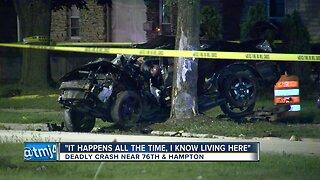 Surveillance video shows deadly crash near 76th & Hampton