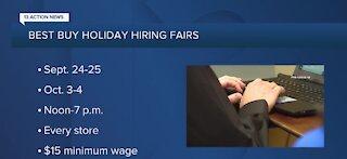 Best Buy holding upcoming job fairs
