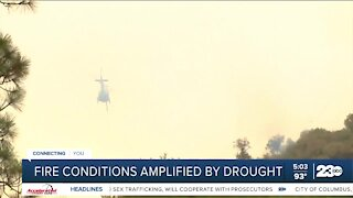 Drought conditions amplify wildfire concerns