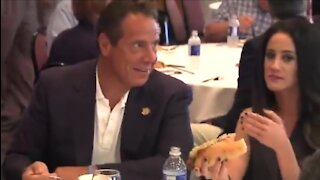 """FLASHBACK: Cuomo Asks Woman Reporter to """"Eat The Whole Sausage"""""""