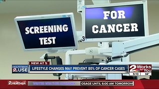 Health News 2 Use: Lifestyle changes may prevent cancer