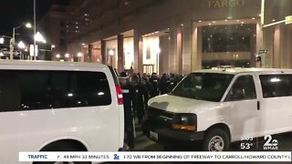Another night of protests continue in Baltimore City