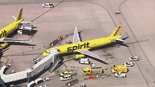 McCarran Airport: 15 people ill on Spirit Airlines flight before takeoff