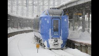Hokuto leaving Hakodate Station