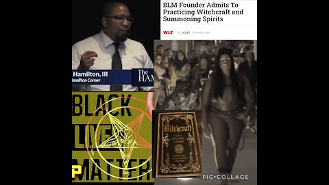 Christian Pastor reveals BLM Org. Practices witchcraft
