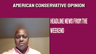Headline news from the weekend