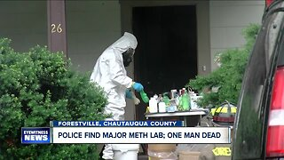 Man dies from suspected carbon monoxide poisoning inside meth lab