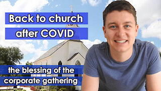 Back To Church After COVID | Christian Video | Importance of Local Church ⛪️