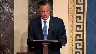 Romney votes to remove Trump from office