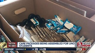 UNO teacher makes care packages