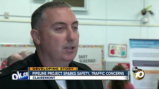 Pipeline project sparks safety, traffic concerns