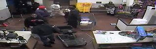 Surveillance video of Sterling Heights Walmart fight
