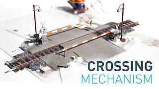 The DIY super slim lifting gate mechanism for railway crossing
