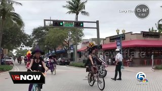 Witches bike ride to help Delray non-profit