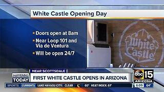 White Castle opens in Arizona Wednesday