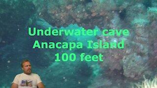 Underwater CAVE at Anacapa Island