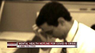 Michigan launches mental health hotline for COVID-19 crisis