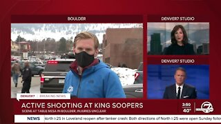 Active shooter situation at Boulder King Soopers, public advised to avoid the area