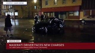 Maserati driver charged in fatal South Buffalo crash
