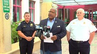 West Palm Beach leaders discuss preparations for Tropical Storm Dorian