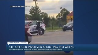 4th officer-involved shooting in Detroit in 3 weeks