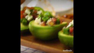 Avocado Relleno Stuffed with Nopales Salad