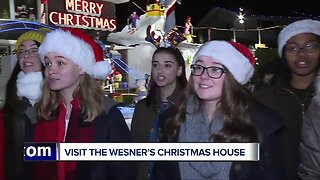 Visit to the Wesner's Christmas Home